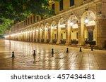 The Historic Center Of Corfu...