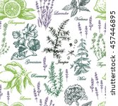Graphic Pattern With Aromatic...