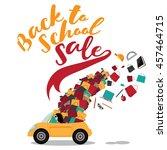 Back To School Sale Design. Mo...