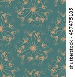 vector seamless pattern with...   Shutterstock .eps vector #457475185