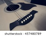 acoustic wooden six string...   Shutterstock . vector #457480789