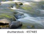 water flowing over rocks ...   Shutterstock . vector #457485