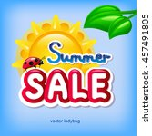 summer sale | Shutterstock .eps vector #457491805