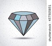 diamond isolated icon design ...