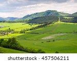 beautifull view on little... | Shutterstock . vector #457506211
