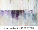 watercolor drips. abstract... | Shutterstock . vector #457507039