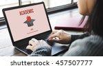 academic education graduation...   Shutterstock . vector #457507777