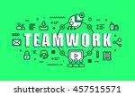modern vector illustration... | Shutterstock .eps vector #457515571