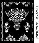 elements of folk design. tribal ... | Shutterstock .eps vector #457526347
