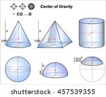 center of gravity | Shutterstock .eps vector #457539355