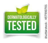 dermatologically tested icon...   Shutterstock .eps vector #457550701
