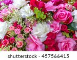 full bloom flower as a... | Shutterstock . vector #457566415