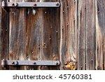 Weathered Old Barn Wood Door...