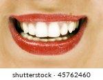 bright smile | Shutterstock . vector #45762460