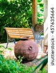 Decorative Iron Metal Pot By...
