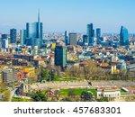 high dynamic range hdr aerial...   Shutterstock . vector #457683301