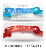 grand opening horizontal... | Shutterstock .eps vector #457731961