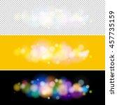 soft bright abstract bokeh... | Shutterstock .eps vector #457735159