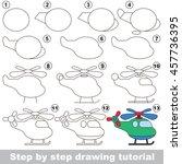 easy educational kid game.... | Shutterstock .eps vector #457736395