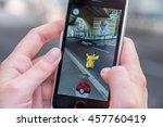 chaville  france   july 24 ... | Shutterstock . vector #457760419