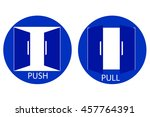 push and pull sign