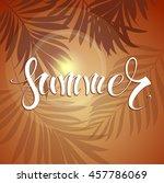 summer   Shutterstock .eps vector #457786069