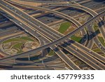 dubai  uae   may 20  2016  view ... | Shutterstock . vector #457799335