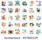 business concept design | Shutterstock .eps vector #457800139