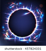 planet. abstract image of... | Shutterstock .eps vector #457824331