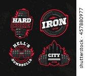 modern professional logo design ... | Shutterstock .eps vector #457880977