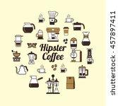 round design element with...   Shutterstock .eps vector #457897411