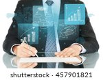 business. | Shutterstock . vector #457901821