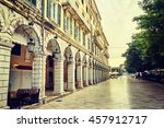 the historic center of corfu... | Shutterstock . vector #457912717
