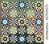 floral pattern  vector...   Shutterstock .eps vector #457919275