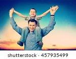 father. | Shutterstock . vector #457935499