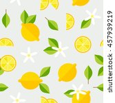 beautiful seamless pattern with ... | Shutterstock .eps vector #457939219
