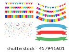 vector illustration of colorful ... | Shutterstock .eps vector #457941601