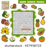 vector color crossword ... | Shutterstock .eps vector #457958725
