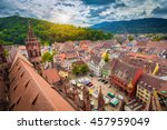 aerial view of the historic... | Shutterstock . vector #457959049