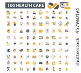 health care icons | Shutterstock .eps vector #457960165