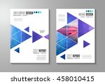 brochure template  flyer design ... | Shutterstock . vector #458010415