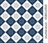 seamless sea pattern. nautical...   Shutterstock .eps vector #458013505
