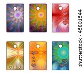 colorful tags with hearts   Shutterstock . vector #45801544