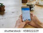 chiangmai  thailand   july 24 ...   Shutterstock . vector #458022229