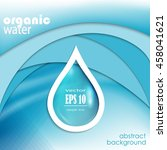 water drop logo template | Shutterstock .eps vector #458041621