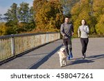 fitness  sport  people and... | Shutterstock . vector #458047261