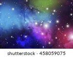 astrology mystic background.... | Shutterstock .eps vector #458059075