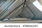 abstract concrete geometric... | Shutterstock . vector #458066335