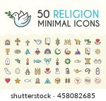 Set Of 50 Minimalistic Solid...