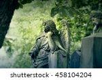 Statue Of A Beautiful Angel....